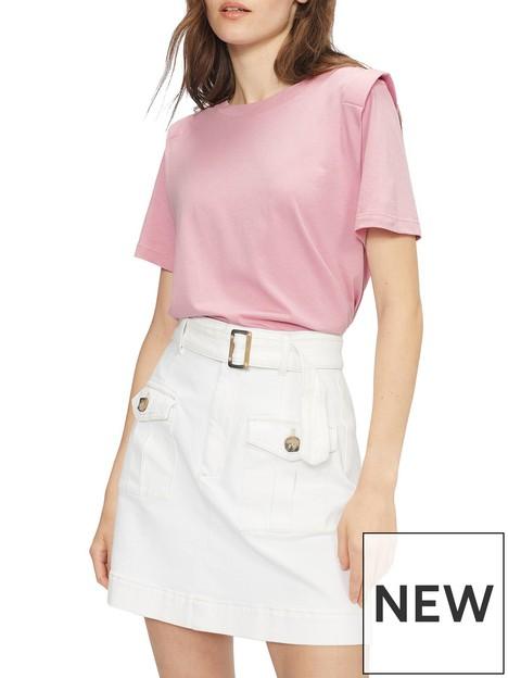 ted-baker-klaaraa-structured-shoulder-t-shirt-dusky-pinknbsp