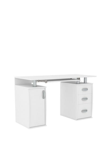 vida-designs-otley-3-drawer-computer-desk-white