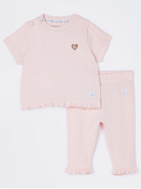 river-island-baby-baby-girls-ribbed-tshirt-and-legging-set-pink