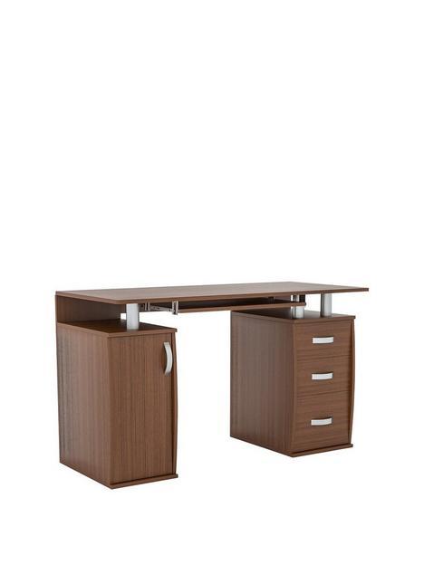 vida-designs-otley-3-drawer-computer-desk-walnut