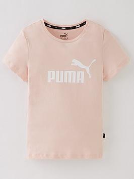 puma-girls-essentials-logo-t-shirt-pink
