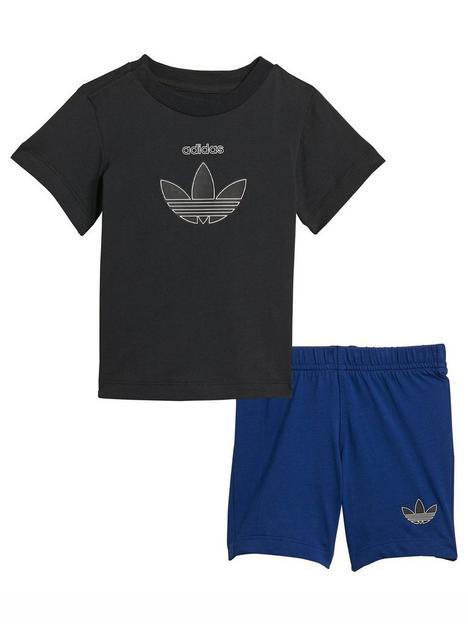 adidas-originals-adidas-originals-infant-unisex-short-tee-set