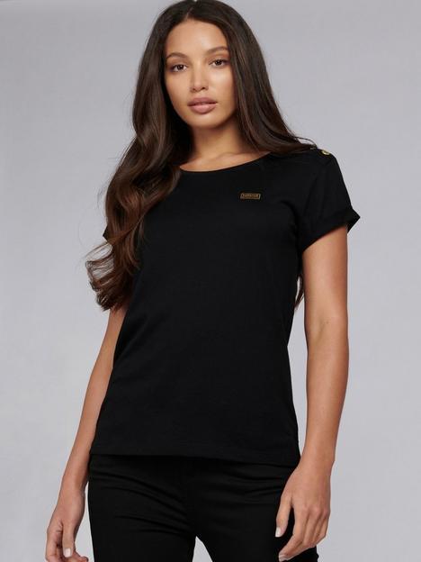 barbour-international-baltimore-button-shoulder-t-shirt-black