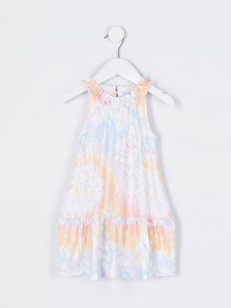 river-island-mini-mini-girls-trapeze-dress-multi