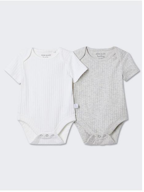 river-island-baby-baby-2-pack-ribbed-bodysuit-cream