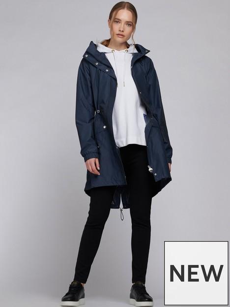 barbour-international-suzuka-showerproof-longline-jacket-blue