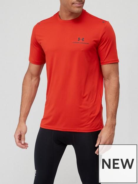 under-armour-training-rush-energy-short-sleeve-t-shirt-redblack