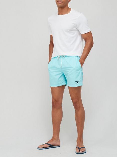 barbour-essential-logo-swim-shorts