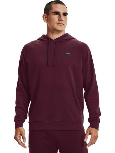 under-armour-training-rival-fleece-hoodie-burgundy