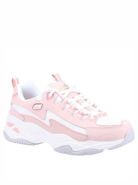skechers-dlites-40-wavy-qtr-overlay-mesh-underlay-lace-up-trainer-pinkwhite