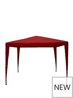 garden-vida-gazebo-3x3m-red