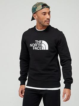 the-north-face-drew-peak-crew-sweat-top-black