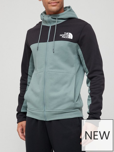 the-north-face-himalayan-full-zip-hoodie-green