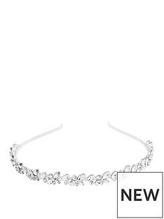 mood-silver-plated-crystal-cluster-headband