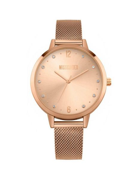 missguided-ladies-alloy-watch