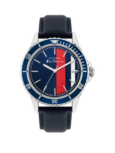 ben-sherman-mens-leather-watch