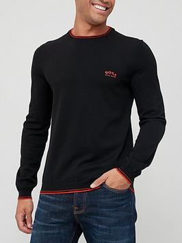 boss-ritom_w21-knitted-jumper-black