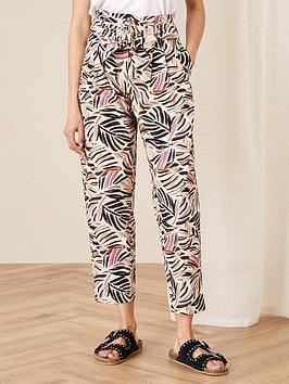 monsoon-palm-print-poplin-trouser