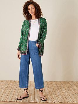 monsoon-green-border-print-kimono