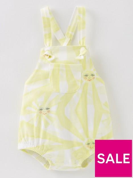 never-fully-dressed-baby-girls-sunshine-print-romper-yellow
