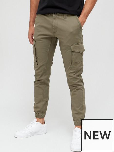 jack-jones-paul-skinny-fit-cargo-trousers-olivenbsp