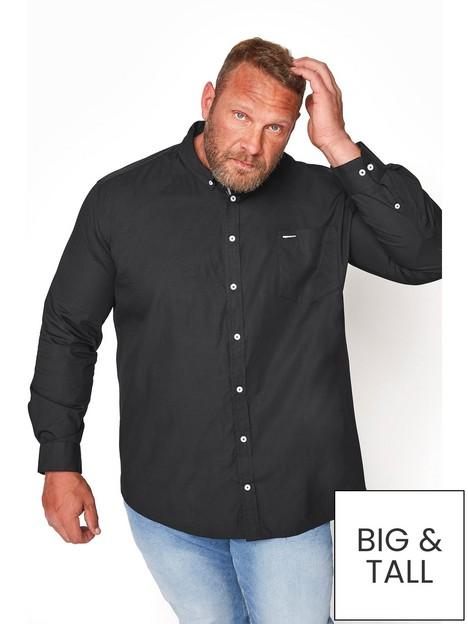 badrhino-essential-long-sleeve-poplin-shirt-blacknbsp