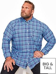 badrhino-check-long-sleeve-shirt-navynbsp