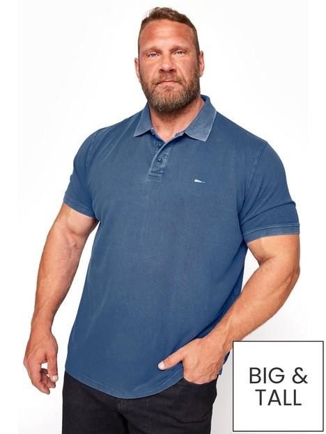 badrhino-contrast-polo-shirt-blue