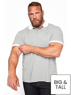 badrhino-contrast-polo-shirt-greynbsp