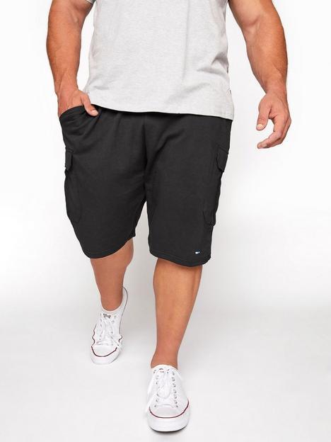badrhino-essential-jersey-cargo-short-blacknbsp