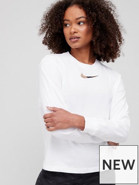 nike-nswnbsppatch-long-sleevenbspboxy-top-white