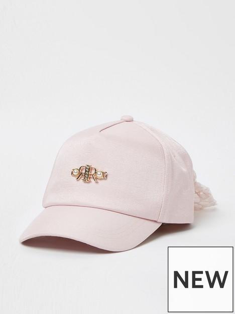 river-island-girls-bow-cap-pink