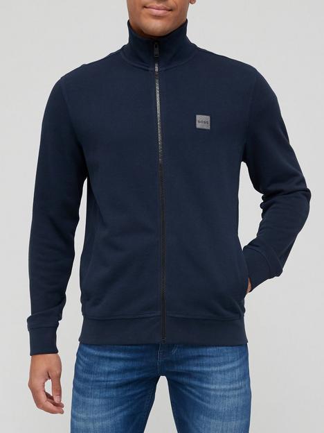 boss-zestart-1-zip-thru-sweatshirt-navy