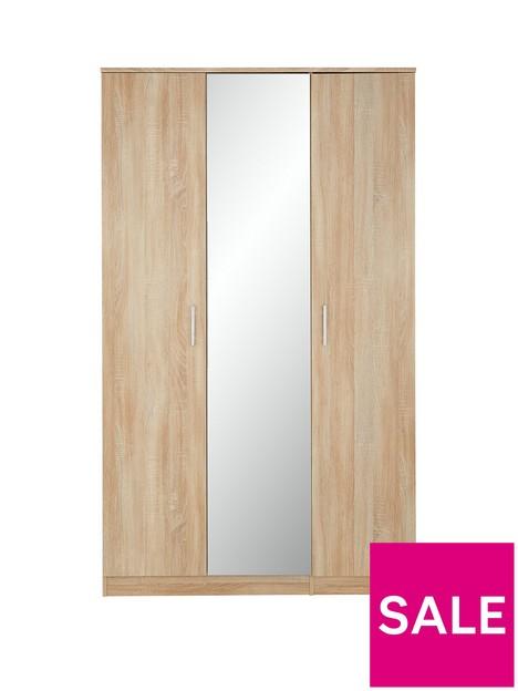 milan-3-door-mirrored-wardrobe
