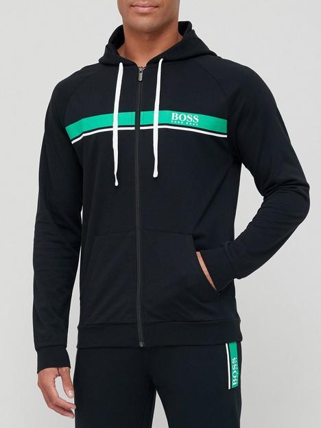 boss-bodywear-authentic-lounge-zip-through-hoodie-black