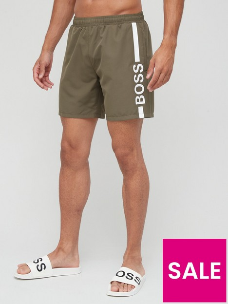 boss-dolphin-logo-swim-shorts-khaki