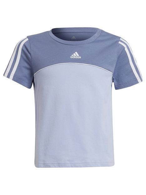 adidas-junior-girls-cb-t-shirt-purplewhite
