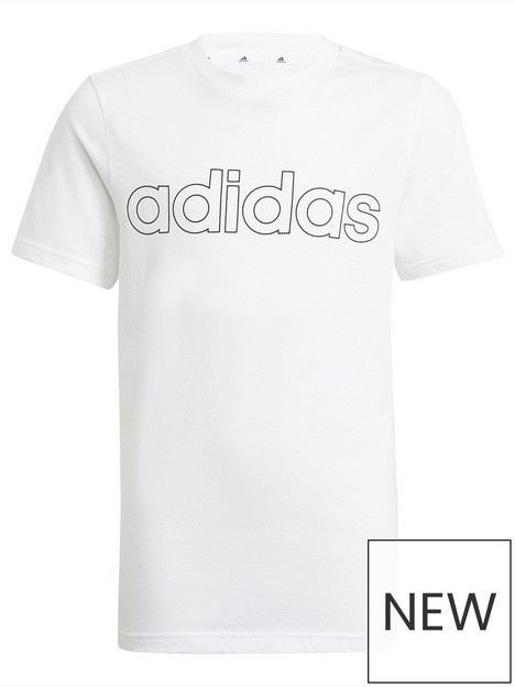 adidas-junior-boys-linear-tshirt