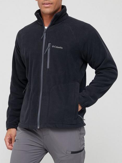 columbia-fast-trek-full-zip-fleece-black