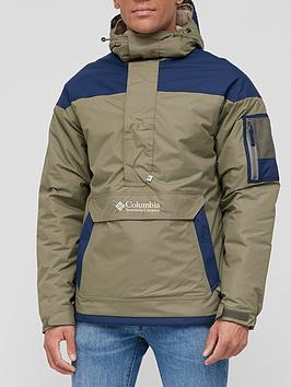 columbia-challenger-pullover-green