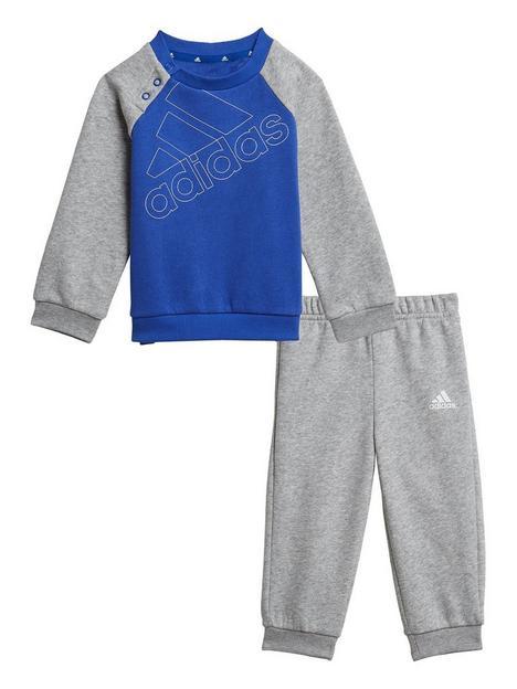 adidas-adidas-infants-outline-logo-crew-jog-pant-set