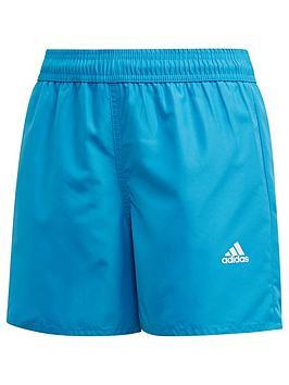 adidas-kids-boys-badge-of-sport-swimnbspshort-blue