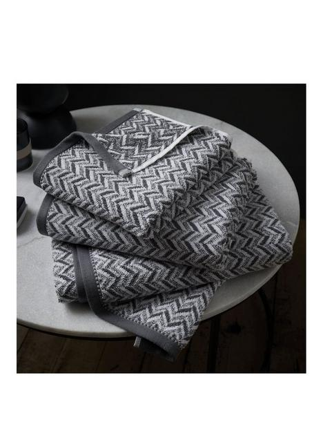 content-by-terence-conran-herringbone-hand-towel-grey