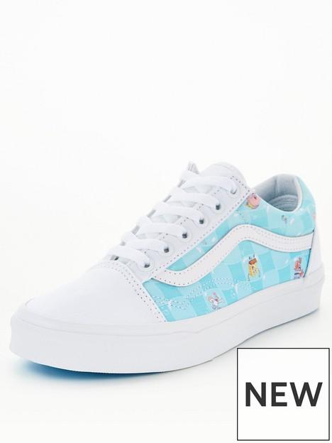 vans-uanbspold-skool-spongebob-trainers-whiteblue