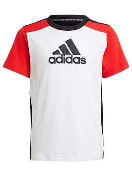 adidas-junior-boys-badge-of-sport-t-shirt-redwhiteblack