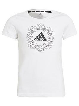 adidas-junior-girls-gfxnbspt-shirtnbsp1-whiteblack