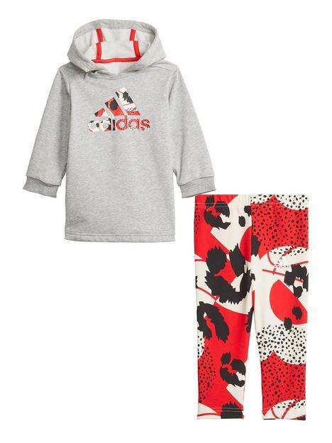 adidas-infant-girls-i-dress-set-greyred