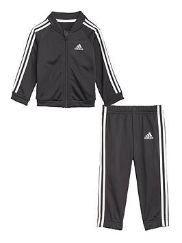 adidas-infant-unisexnbsp3-stripes-tricotnbsptracksuitnbsp--blackwhite