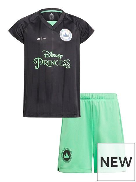 adidas-girls-disney-princess-football-set-greenblack