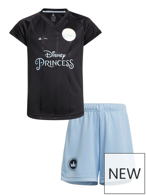 adidas-girls-disney-princess-football-set-blueblack